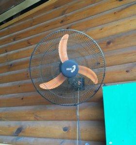 Вентилятор настенный