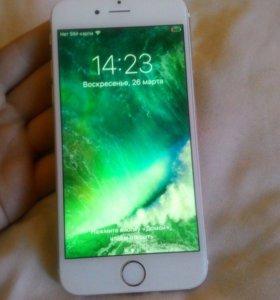 iPhone 6 . 64 золотой