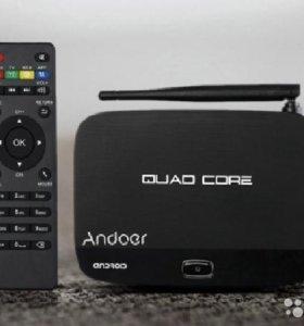 Andoer F7 андроид 4.4 смарт-box TV медиа-плеер