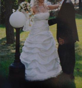 Продам итальянское свадебное платье