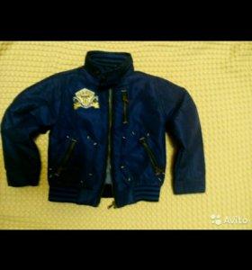 Куртка бомбер на рост 104