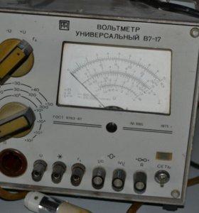 Вольтметр В7-17.