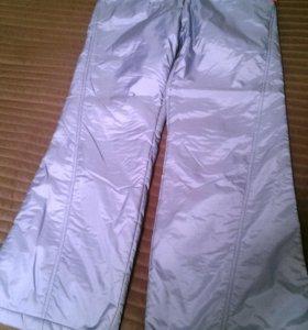 спортивные утепленные брюки