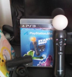 playstation move+камера