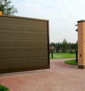 Откатные, автоматические ворота, заборы.