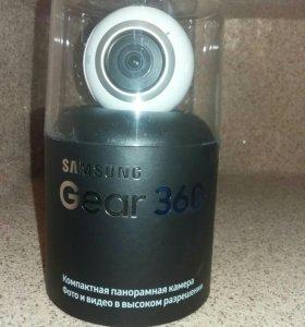 Понорамная камера samsung gear 360