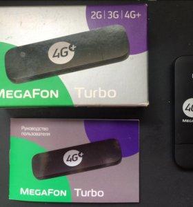 Модем 4G+ megafon turbo
