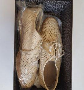 Ботинки мужские. Кожа.