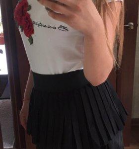 Новая юбка школьная