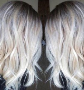 Окрашивание волос стрижки укладки