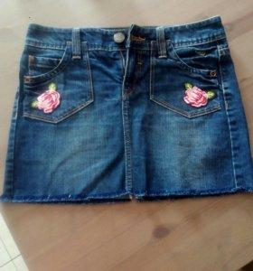 Юбка джинсовая Esprit