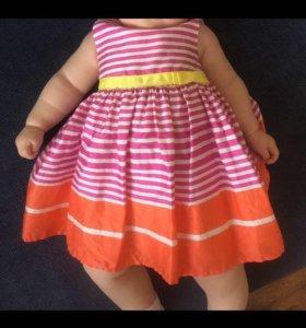 Платья для малышки 1-4 мес