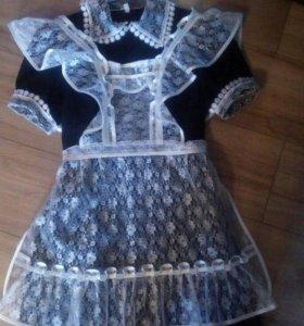 Школьная форма,платье и фартук