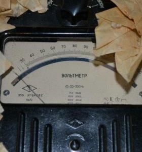 Вольтметр Э59. С хранения. 70г 1шт - 3000р