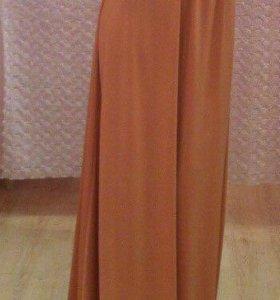 Платье в пол (золотой песок)