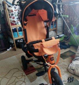 Детский велосипед и санки!