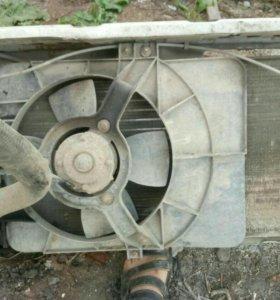 Радиатор оснавной ваз 2110