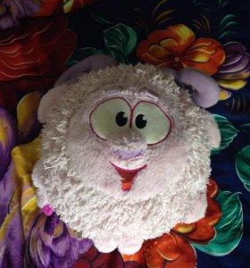 Мягкая игрушка подушка Бараш из смешариков