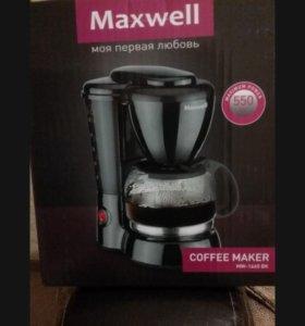 Новая Кофеварка Maxswell
