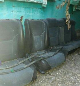 Седенья на GX90