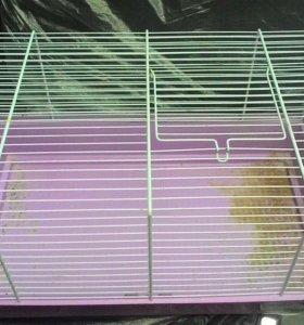 клетка для кролика декаративного или хомяка