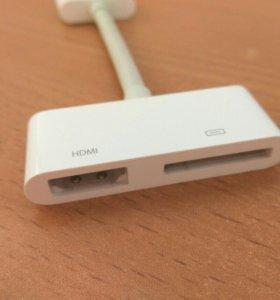 Кабель с 16pin на HDMI для iPhone 4/4s