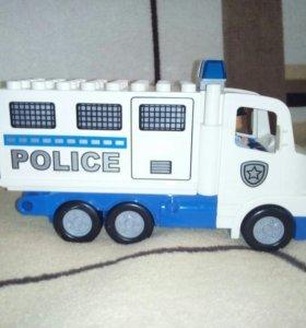 Лего полицейский грузовик