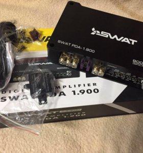 Усилитель Swat PDA-1.900 - моноблок