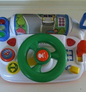Детский руль,музыкальный