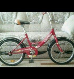 Велосипед на5-7 лет d'18