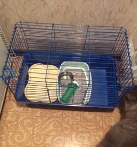 клетка для кролика, хомяка, хорька