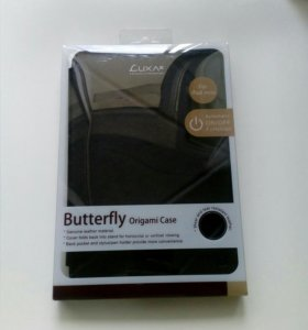 Чехол для ipad mini новый (LUXA2 butterfly origina