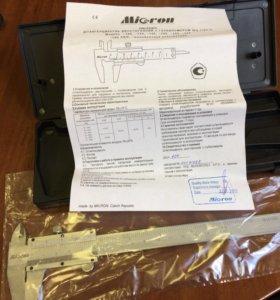 Штангенциркуль Micron ШЦ-l-150 0,05