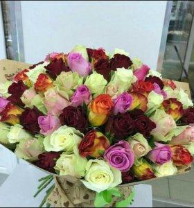 101 роза АКЦИЯ!!!!