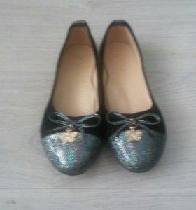 Новые туфли-балетки