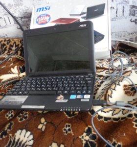 Нетбук - Ноутбук MSI Wind U135DX. Новый