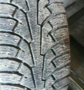 Зимние шины Nokian на 18