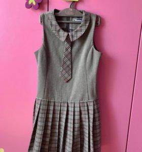 Школьное платье на девочку, 128