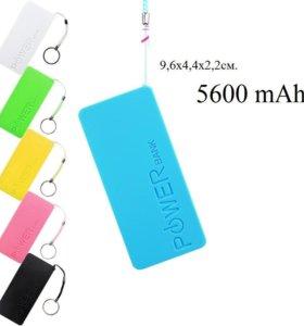 Power bank доп.зарядка для телефонов 5600mAh