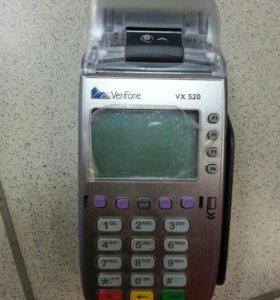 Verifone vx520 терминал