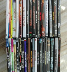 Большая коллекция DVD дисков