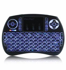 Беспроводная мини клавиатура Ipazzport с тачпадом