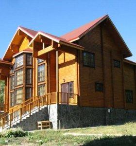 Строительство каркасных домов, дома из бруса, бани