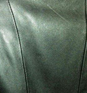 Кожаная куртка 46размер