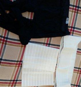 Бандажи  и компрессионные колготки.