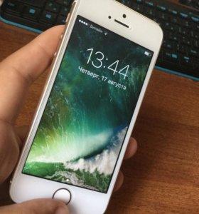 iPhone 5s золотой 64gb