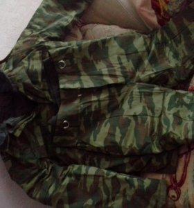 армейский зимний камуфляжный костюм