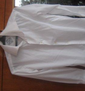 Рубашка белая, в школу