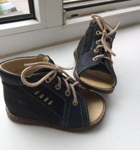 Ботиночки на первые шаги ортопедические