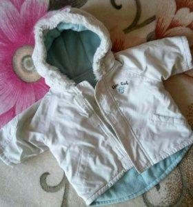 Курточка 3-6 месяцев